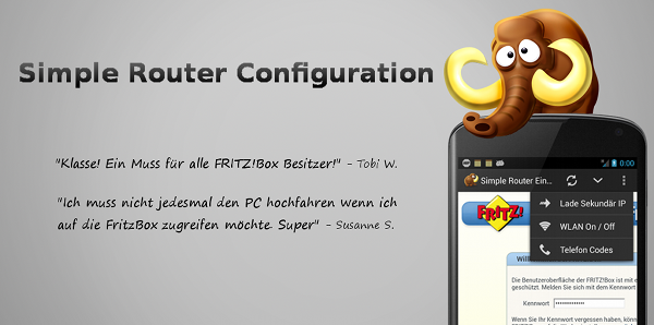 Simple Router Configuration auf mobiFlip.de