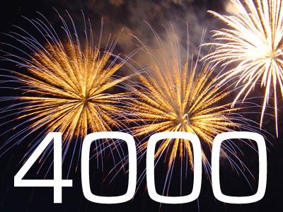 4000 Besucher-marke geknackt!