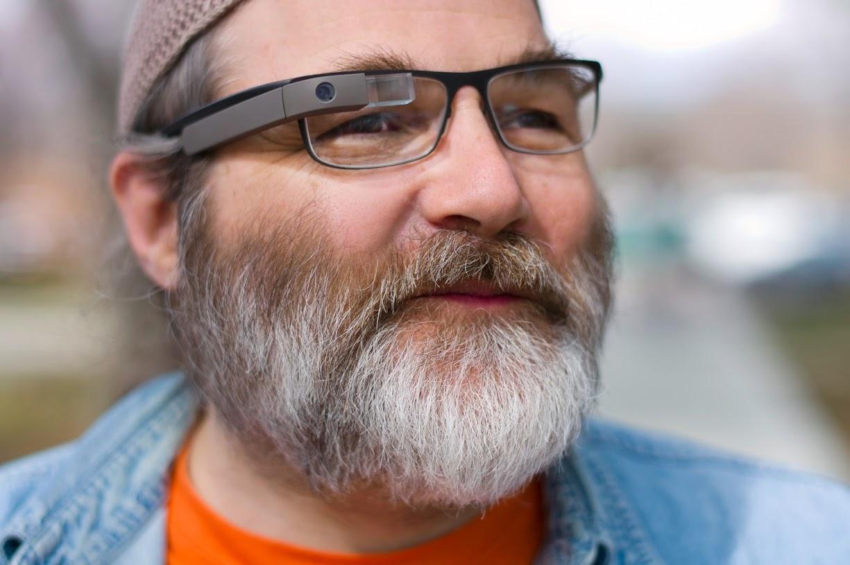 Google Glass für Brillenträger!