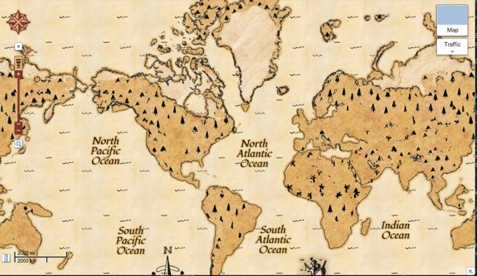 Google Maps Schatzsuche | Aprilscherz