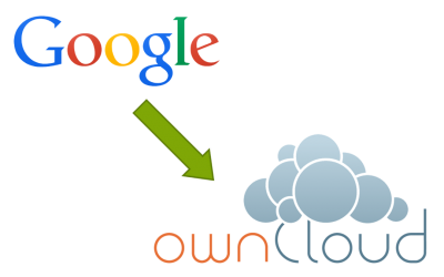 Migrating from Google to ownCloud [HowTo]